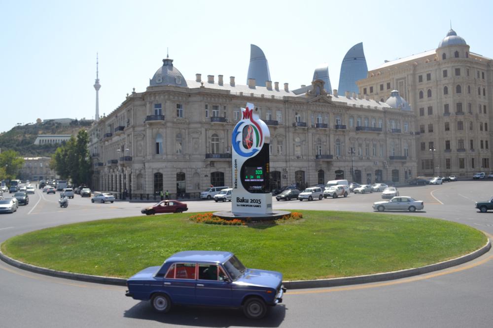 Контрасты Баку